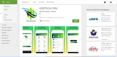 Development webtech crm